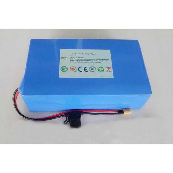 Литиевый аккумулятор L-ion 48v 15,6Ah для электросамоката фото
